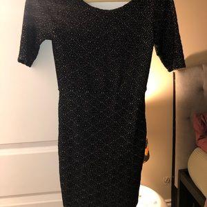 Free people tight knit dress
